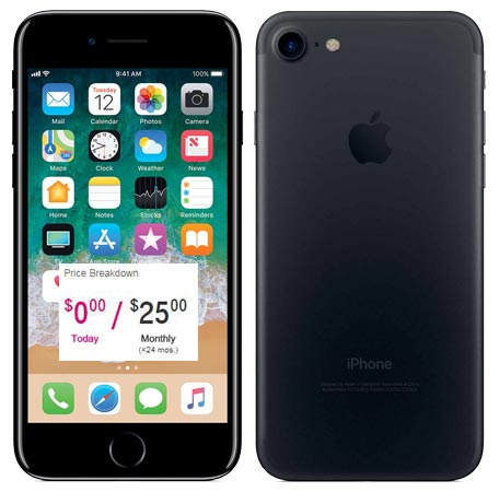 Get the iPhone 7 and save $ with T-Mobile. What: Buy an iPhone 7 on T-Mobile's finance plan and save $ Discount will be applied through credits spread over 24 months.