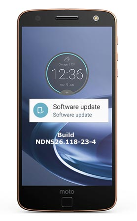 Moto Z Play Droid Verizon October 2017 OTA