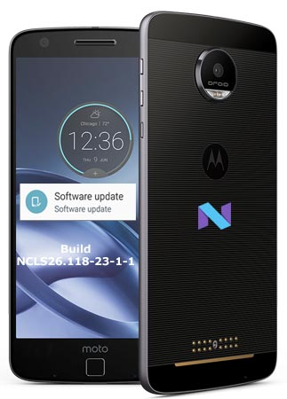 Moto Z Droid Verizon October 2017 OTA