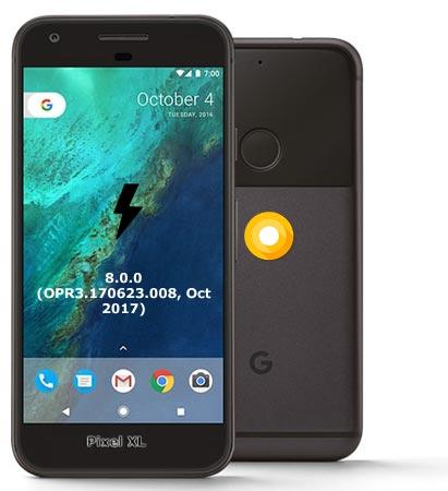 Google Pixel XL OPR3.170623.008 Oreo 8.0