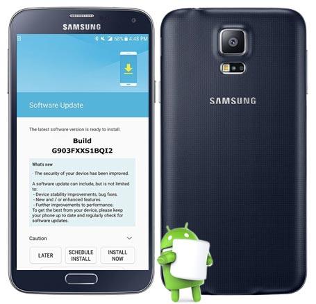 Samsung S5 Neo SM-G903F October 2017 OTA