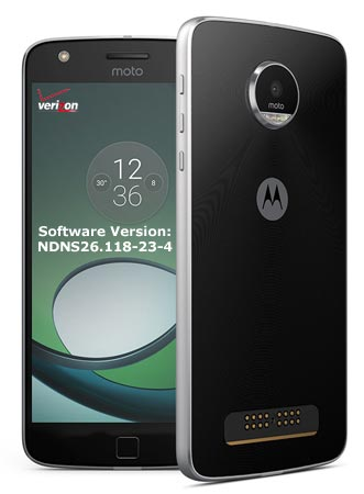 Moto Z Play Verizon November 2017 OTA Update