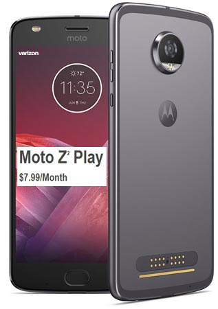 Moto Z2 Play Verizon November 2017 Deal $192