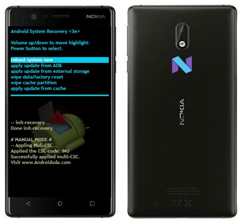 Nokia 3 Modes and Respective Keys