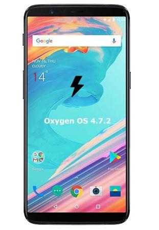 OnePlus 5T OxygenOS 4.7.2 Firmware