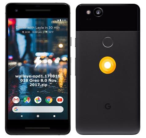 Google Pixel 2 OPD1.170816.018 Oreo 8.0