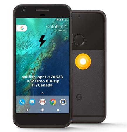 Google Pixel OPR1.170623.032 Oreo 8.0