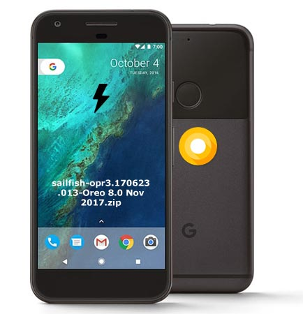 Google Pixel OPR3.170623.013 Oreo 8.0