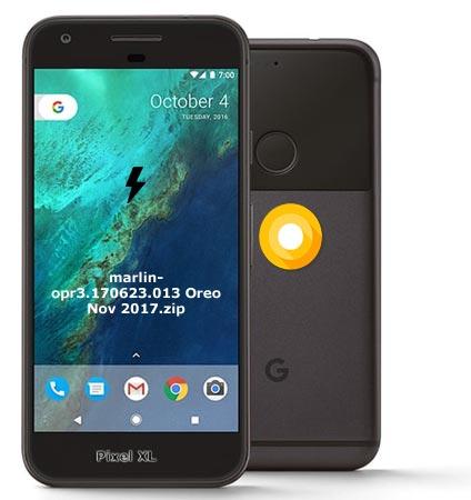 Google Pixel XL OPR3.170623.013 Oreo 8.0