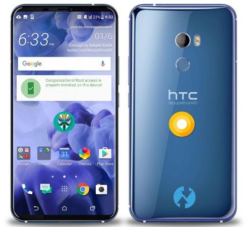 Root HTC U11 Plus Oreo Install TWRP