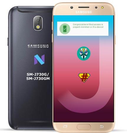 Root Samsung Galaxy J7 Pro SM-J730G Nougat Install TWRP