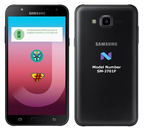 Root Samsung Galaxy J7 Core SM-J701F Nougat Install TWRP