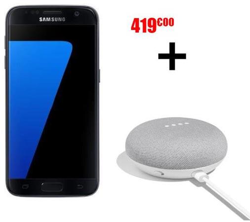 samsung s7 google home mini black friday 2017 deal euro 419 android infotech. Black Bedroom Furniture Sets. Home Design Ideas