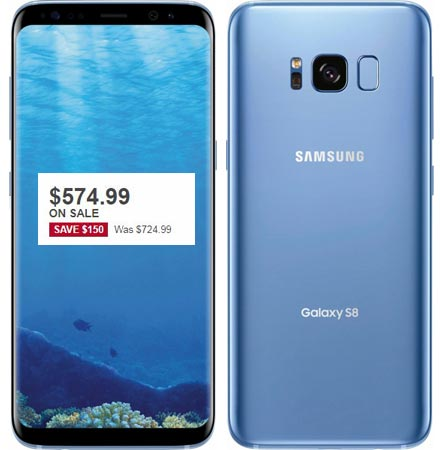 Samsung Galaxy S8 Plus Black Friday 2017 Deal For $675