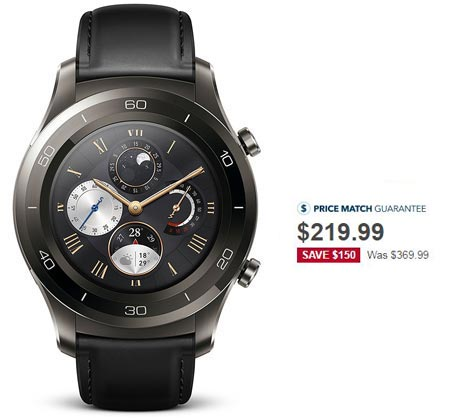 Huawei Watch 2 Classic Holiday Sale December 2017 Deal For $219