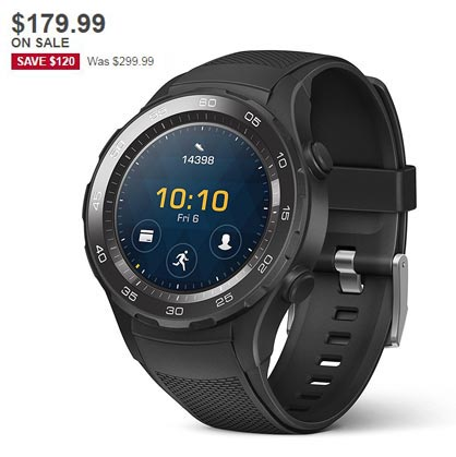 Huawei Watch 2 Holiday Sale December 2017 Deal For $179