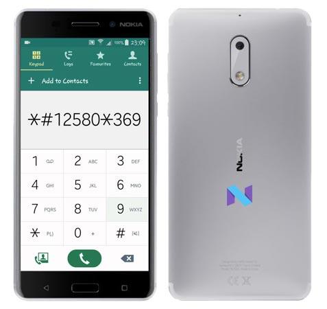 Nokia 6 Codes-Useful Checking Secret Codes