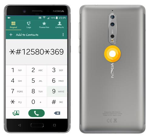 Nokia 8 Codes-Useful Checking Secret Codes