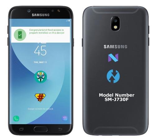 Root Samsung Galaxy J7 2017 SM-J730F Nougat TWRP