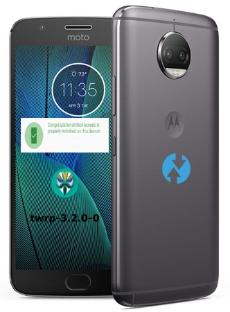 Install TWRP 3.2.0 Moto G5 Plus Official Version