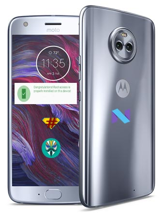 Root Moto X4 Nougat Install TWRP