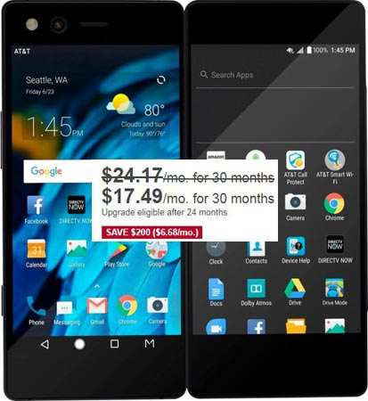 ZTE Axon M Foldable December 2017 Deal $524(AT&T)