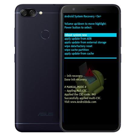 Asus Zenfone Max Plus M1 Modes Respective Keys