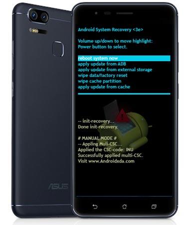 Asus Zenfone V V520KL Modes Respective Keys