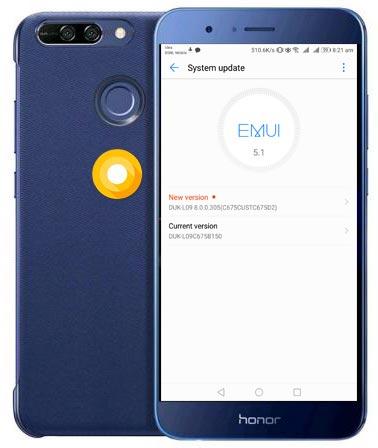 Huawei Honor 8 Pro India Oreo OTA Update