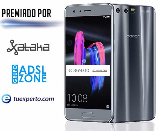 Huawei Honor 9 January 2018 Deal For EUR 369