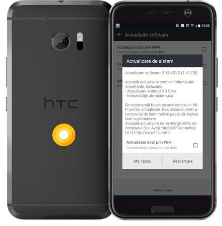 HTC 10 EMEA Oreo OTA Update 3.18.118.1