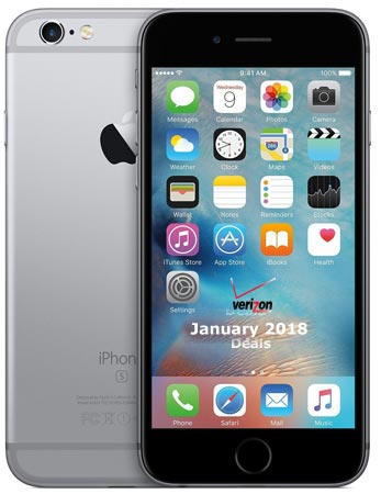 iPhone 6s Verizon January 2018 Deal From $450