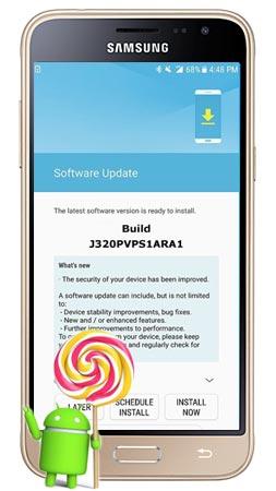 Samsung Galaxy J3 2016 Sprint SM-J320P January 2018 OTA