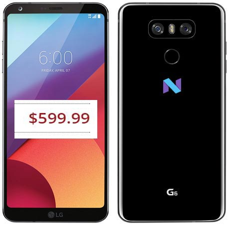 LG G6 Plus January 2018 Deal For $600