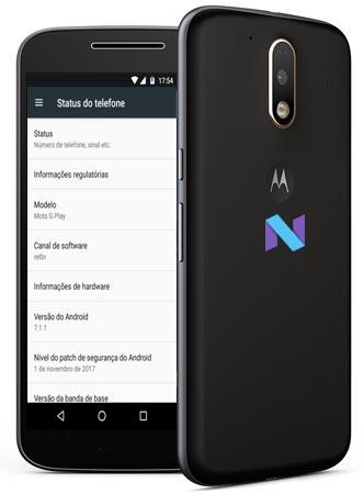 Moto G4 Plus Nougat 7.1.1 OTA Update