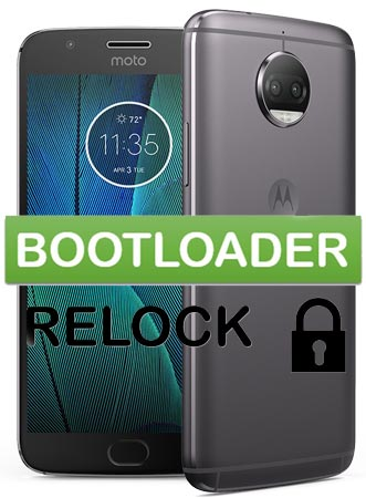 Relock Bootloader Moto G5s Plus Devices