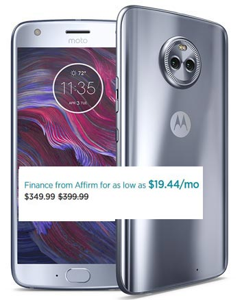 Moto X4 New Year Sale January 2018 Deal For $350