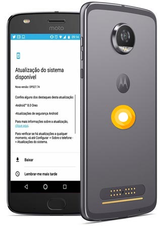 Moto Z2 Play Oreo Beta OTA 8.0 Update