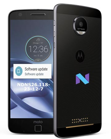 Moto Z Droid Verizon January 2018 OTA