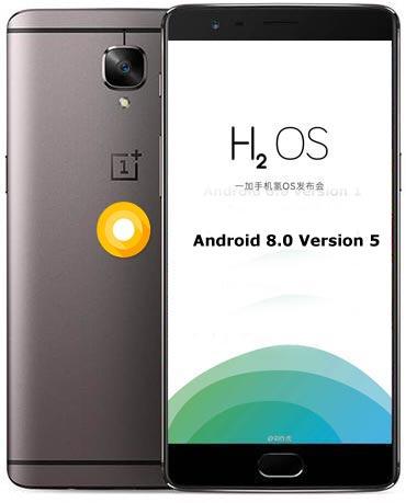OnePlus 3T Hydrogen OS Oreo Version 5 ROM