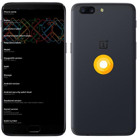OnePlus 5 OxygenOS Open Beta 4 Firmware