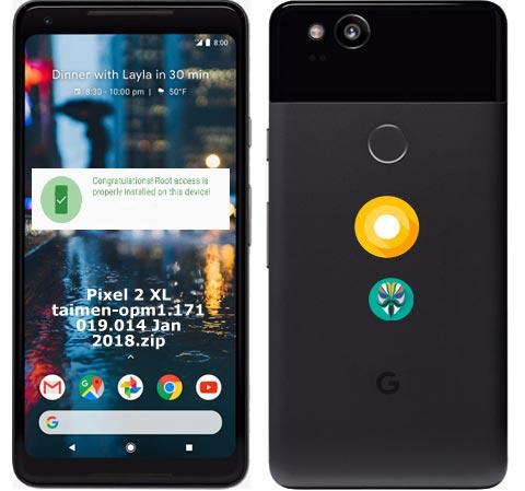 Root Google Pixel 2 XL Oreo 8.1 OPM1.171019.014 O2 UK