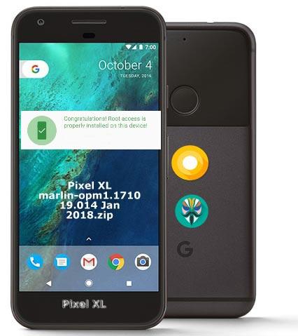 Root Google Pixel XL Oreo 8.1 OPM1.171019.014 O2 UK