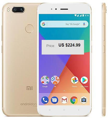 Xiaomi Mi A1 January 2018 Deal For $225