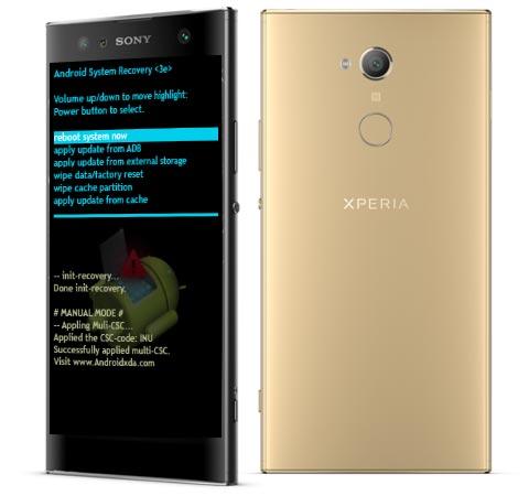 Sony Xperia XA2 Ultra Modes and Respective Keys
