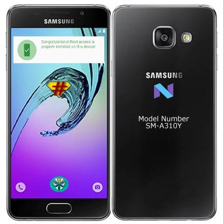 Install TWRP Samsung Galaxy A3 2016 SM-A310Y Nougat 7.0