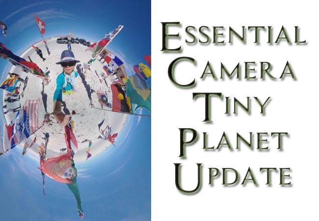 Essential Phone PH-1 Camera APP Tiny Planet Update
