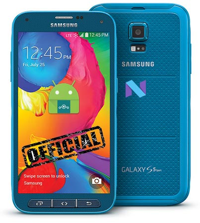 Samsung Galaxy S5 Sport Sprint SM-G860P Lineage Nougat Official ROM 14.1
