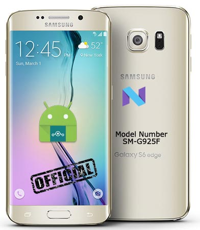 Samsung Galaxy S6 Edge SM-G925F Lineage Nougat Official ROM 14.1