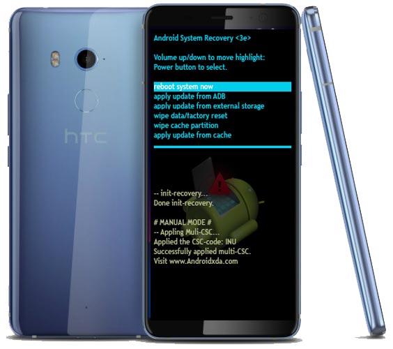 HTC U11 EYEs Modes and Respective Keys